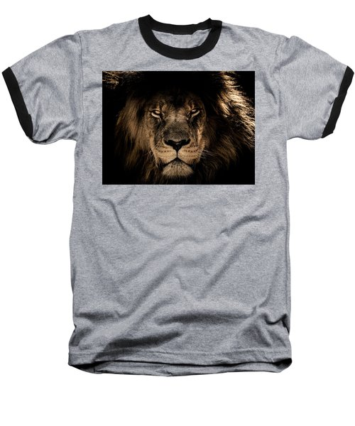 Wise Lion Baseball T-Shirt
