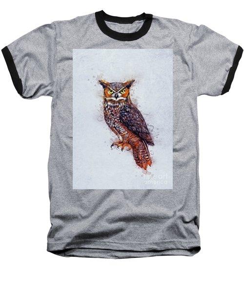 Wise Owl Baseball T-Shirt