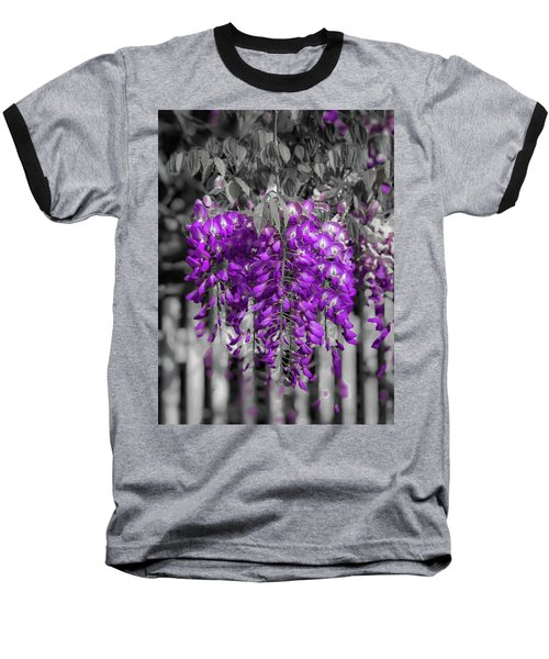 Wisteria Falling Baseball T-Shirt