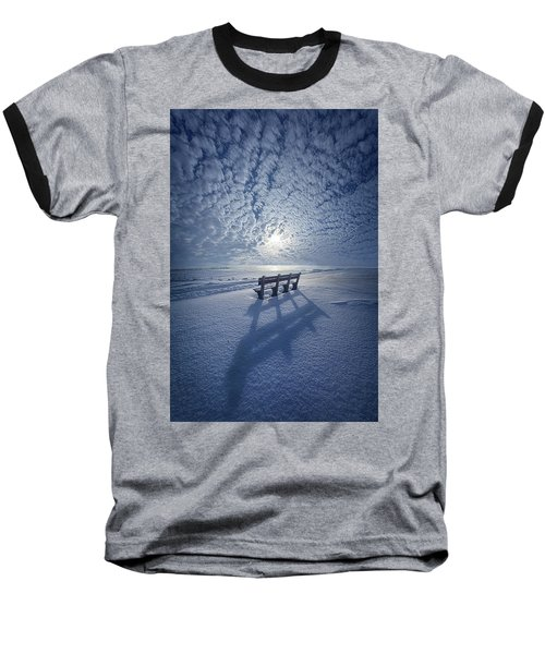 Baseball T-Shirt featuring the photograph Within The Absence Are The Memories by Phil Koch