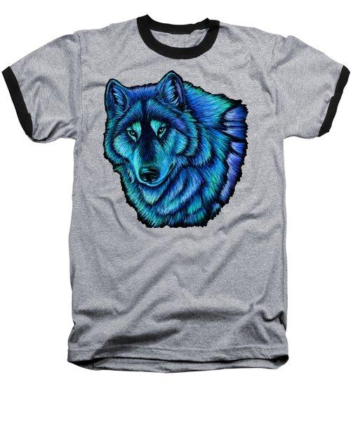 Wolf Aurora Baseball T-Shirt
