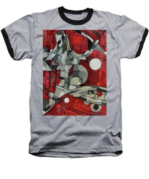 Woman Man Woman Baseball T-Shirt