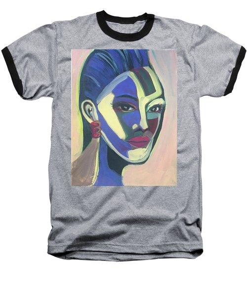 Woman Of Color Baseball T-Shirt