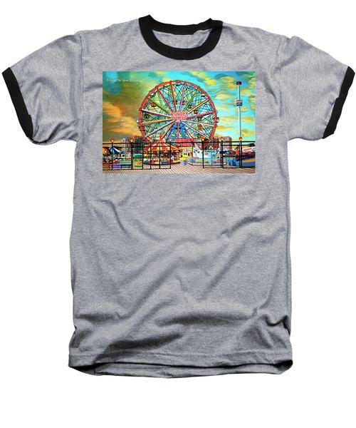 Wonder Wheel Weekender Tote Bag Version Baseball T-Shirt
