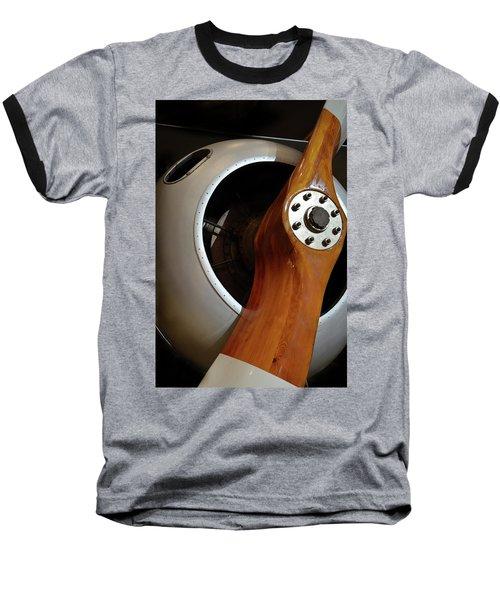 Wooden Propeller Baseball T-Shirt