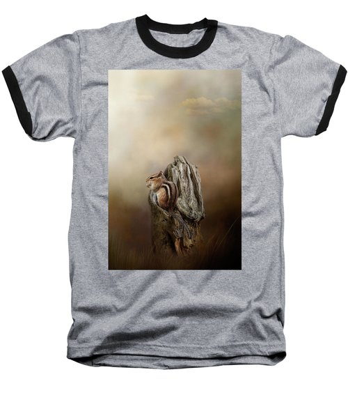 Woodland Visitor Baseball T-Shirt