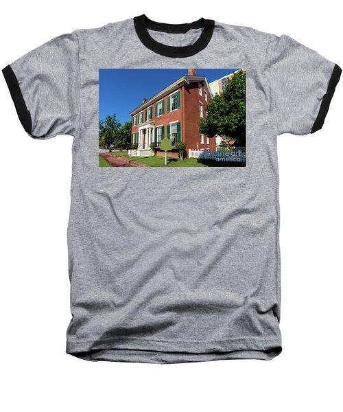 Woodrow Wilson Boyhood Home - Augusta Ga 2 Baseball T-Shirt