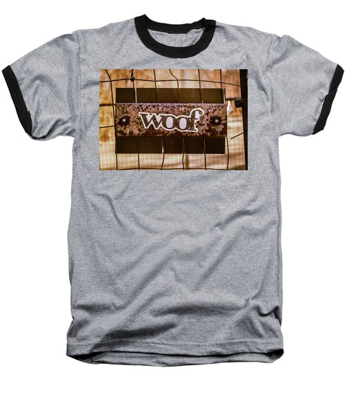 Woof Baseball T-Shirt