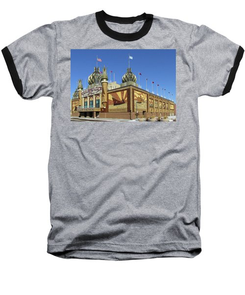 Worlds Only Corn Palace 2018-19 Baseball T-Shirt