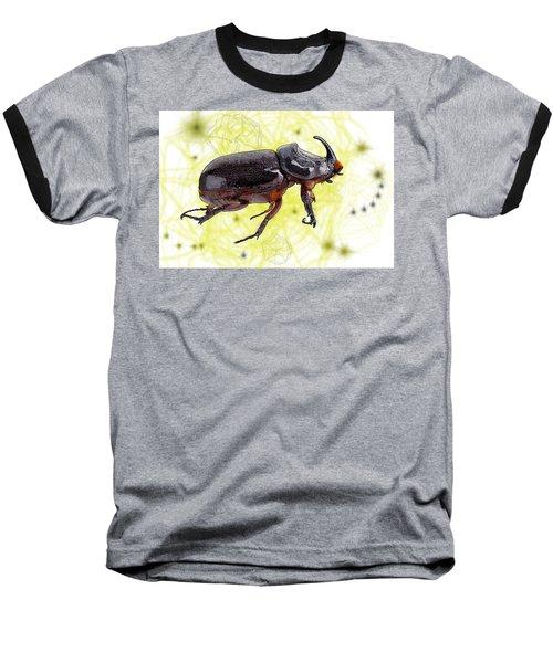 X Is For Xylotrupes Ulysses  Aka Rhinoceros Beetle Baseball T-Shirt