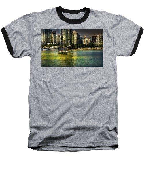 Yaletown Sunset Baseball T-Shirt