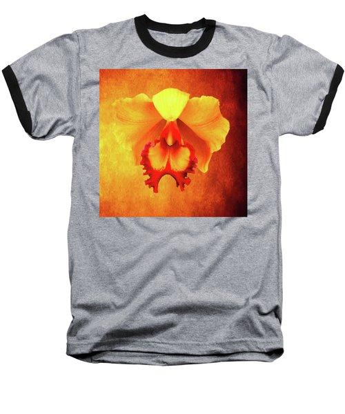 Yellow Exotic Baseball T-Shirt