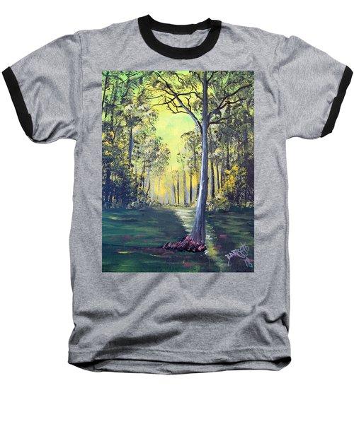 Yellow Forrest Baseball T-Shirt