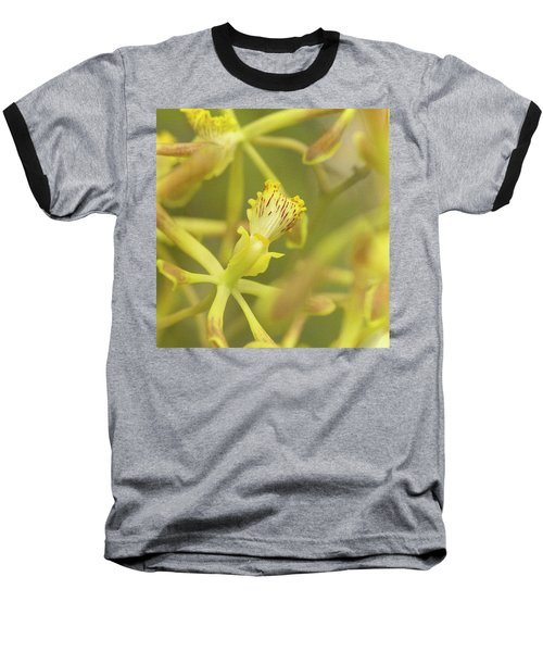 Yellow Orchid Baseball T-Shirt