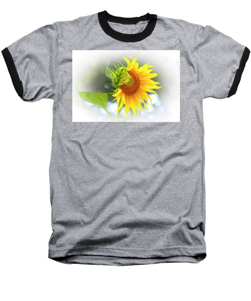 Yellow Petals Of Sunshine Baseball T-Shirt