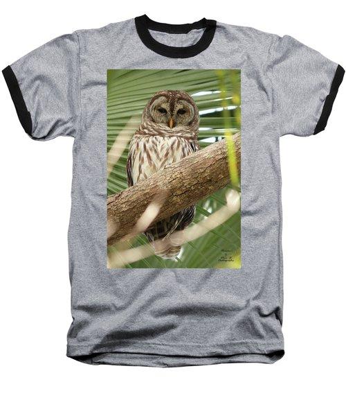 Somebody's Watching Me Baseball T-Shirt