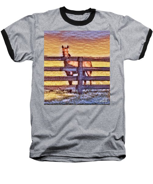 Young Kentucky Thoroughbred Baseball T-Shirt