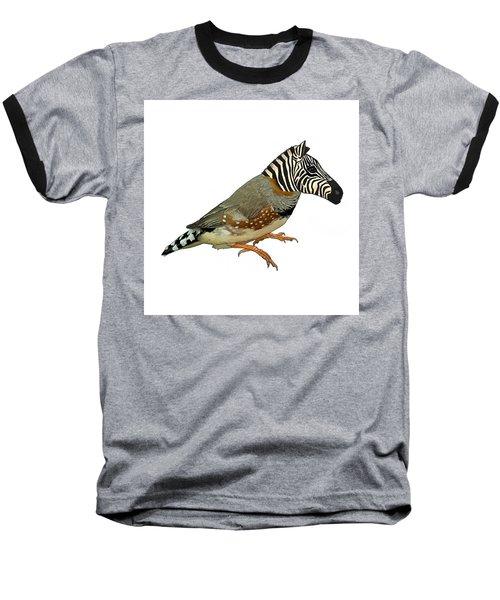Z Is For Zebra Finch Thats Not A Zebra Finch Baseball T-Shirt