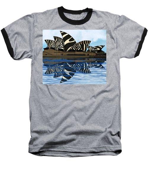 Zebra Opera House 4 Baseball T-Shirt
