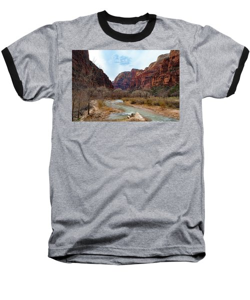 Zion Canyon Baseball T-Shirt