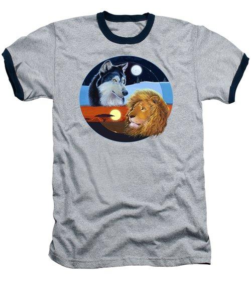 Celestial Kings Circular Baseball T-Shirt by J L Meadows