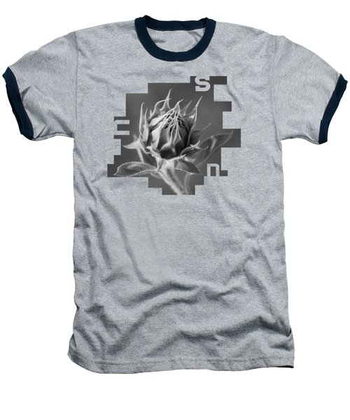 Sunflower Baseball T-Shirt by Konstantin Sevostyanov