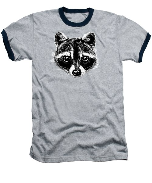 Raccoon Baseball T-Shirt by Masha Batkova
