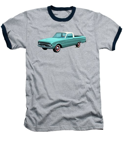 2nd Generation Falcon Ranchero 1960 Baseball T-Shirt by Chas Sinklier