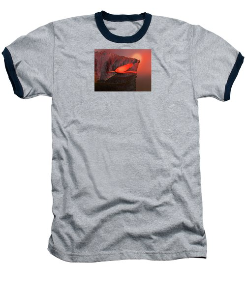 Baseball T-Shirt featuring the photograph 4366 by Peter Holme III