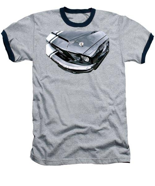 Shelby Super Snake At The Ace Cafe London Baseball T-Shirt by Gill Billington