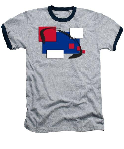 Bills Abstract Shirt Baseball T-Shirt by Joe Hamilton