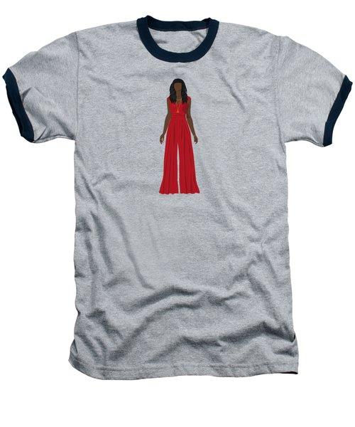 Destiny Baseball T-Shirt by Nancy Levan