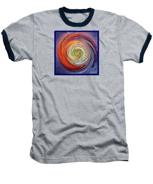 Baseball T-Shirt featuring the photograph Eye Of The Storm by Sue Melvin