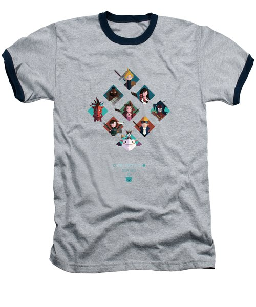 Ff Design Series Baseball T-Shirt by Michael Myers