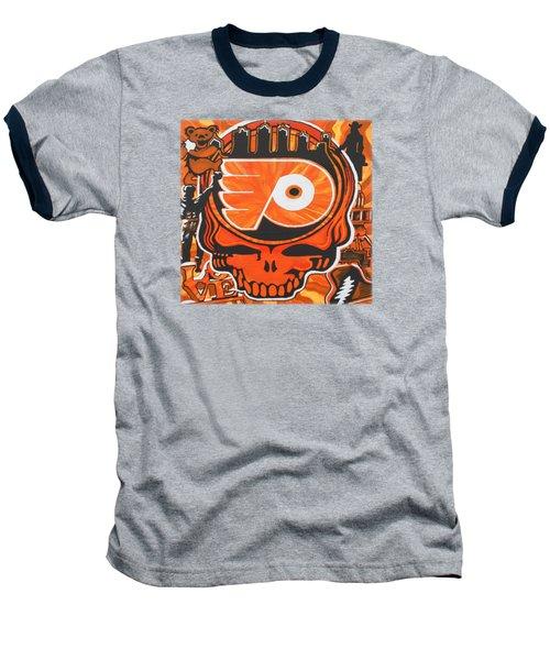 Flyer Love Baseball T-Shirt by Kevin J Cooper Artwork