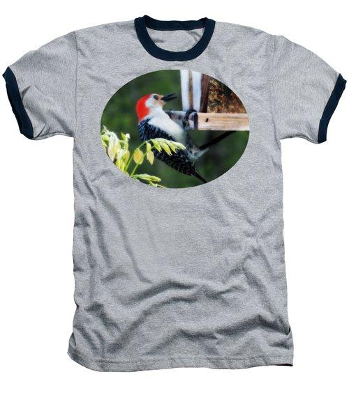 Hang In There Baseball T-Shirt by Anita Faye