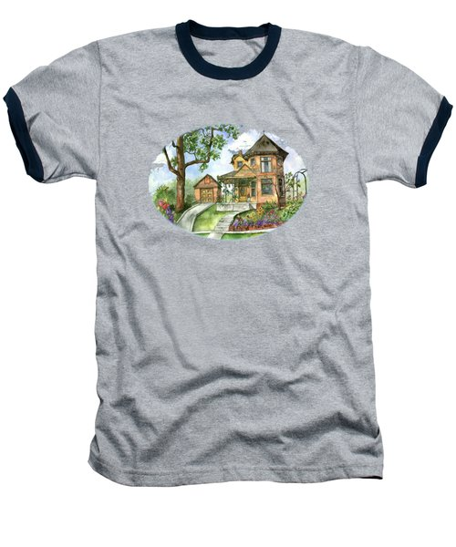 Hilltop Home Baseball T-Shirt by Shelley Wallace Ylst