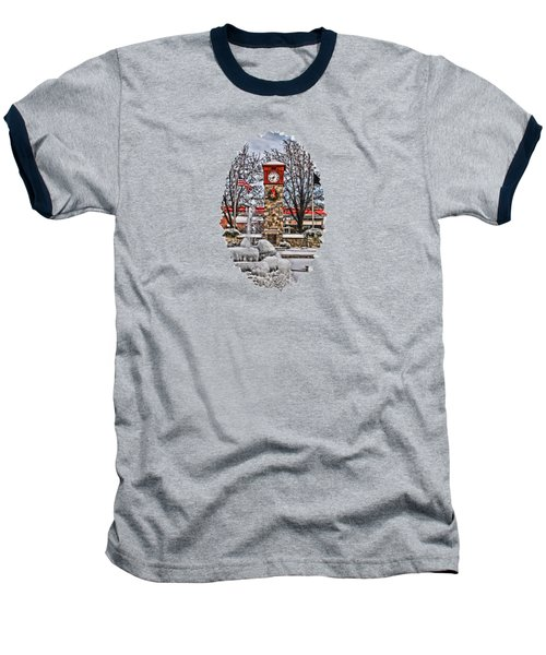 Baseball T-Shirt featuring the photograph Ice Cold Holiday by DJ Florek