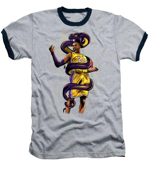 Legend Black Mamba Baseball T-Shirt by Akyanyme