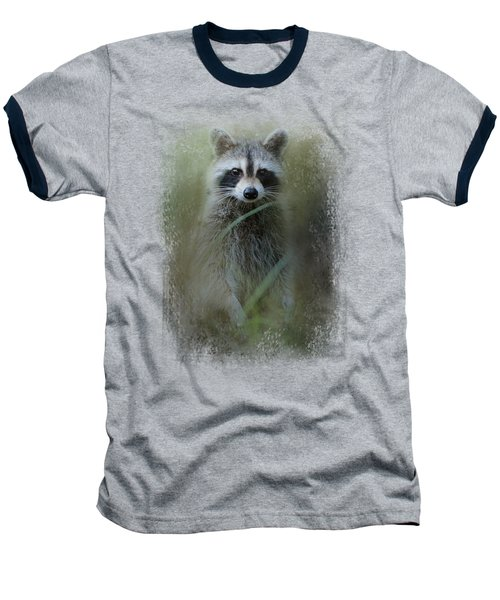 Little Bandit Baseball T-Shirt by Jai Johnson