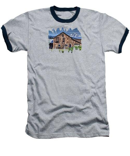 Baseball T-Shirt featuring the photograph Mt. Adams by Thom Zehrfeld
