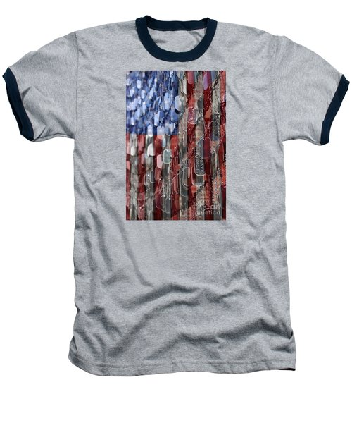 Baseball T-Shirt featuring the photograph Never Forget American Sacrifice by DJ Florek