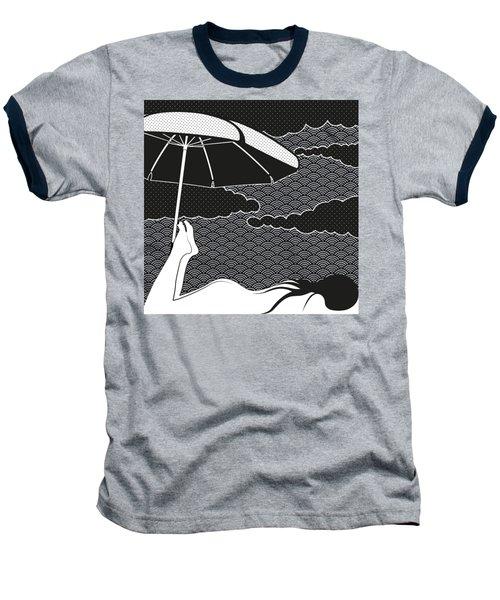 Nice Dream Baseball T-Shirt by Freshinkstain