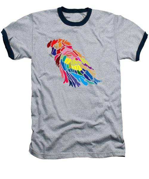Parrot Beauty Baseball T-Shirt by Anthony Mwangi