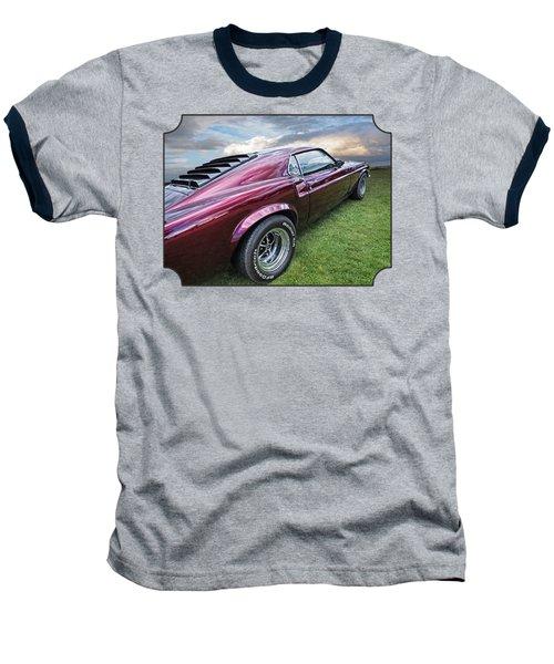 Rich Cherry - '69 Mustang Baseball T-Shirt by Gill Billington