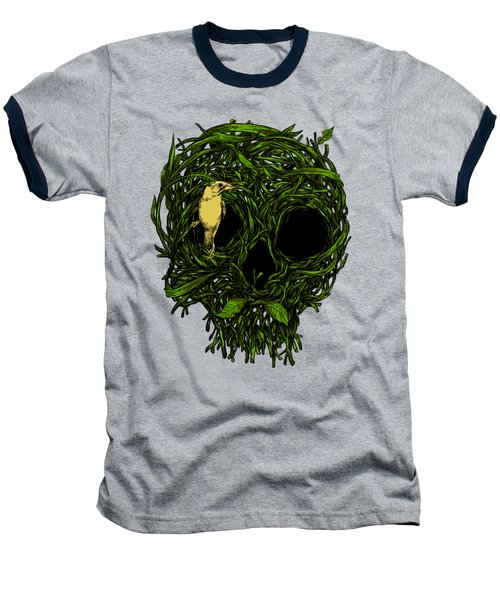 Skull Nest Baseball T-Shirt by Carbine