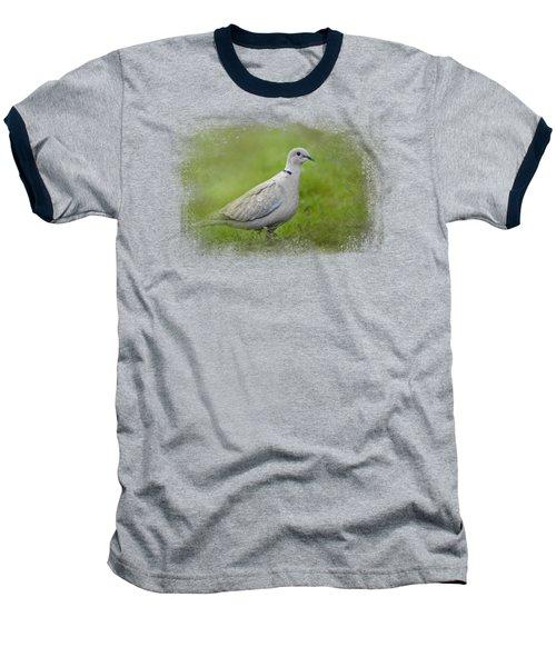 Spring Dove Baseball T-Shirt by Jai Johnson