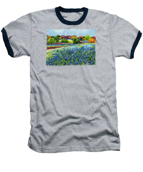Spring Impressions Baseball T-Shirt by Hailey E Herrera