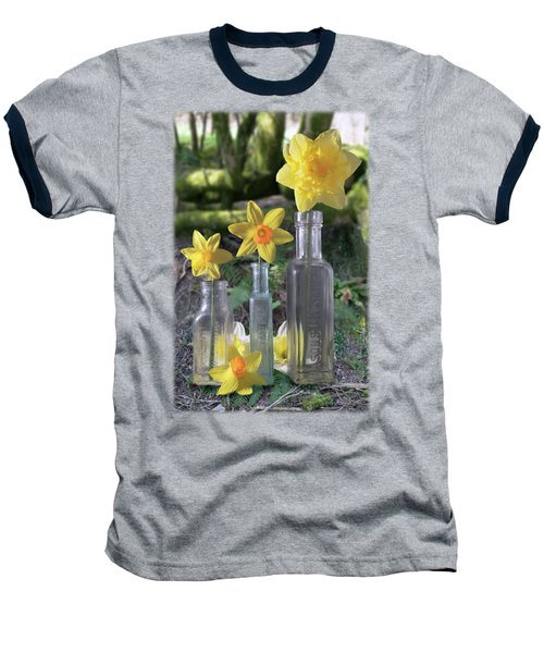 Still Life In The Woods Baseball T-Shirt by Jon Delorme