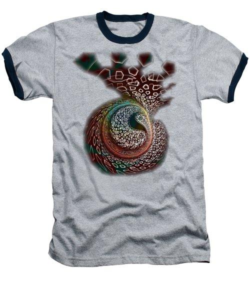 Baseball T-Shirt featuring the digital art Sudden Outburst by Anastasiya Malakhova